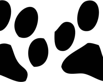 Paws Vinyl wall art Inspirational quotes and saying home decor decal sticker