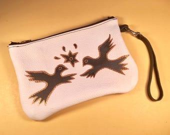 Spirit bird wristlet