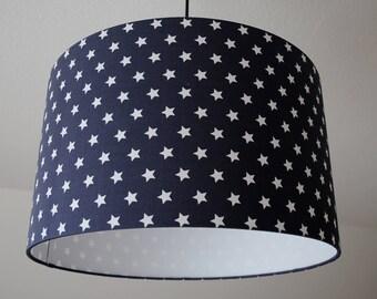 """Lampshade """"stars""""(Dark gray)"""