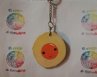 Handmade Egg Keychain