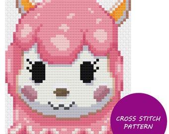 Reese - Animal Crossing Cross Stitch Pattern