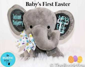 Kids easter gift etsy personalized easter bunny easter gift kids easter gift baby easter gift baby negle Image collections