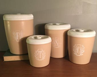 Tan Canister Set