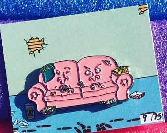 Beavis & Butthead Couch Hat Pin - Viberaider X VEK4