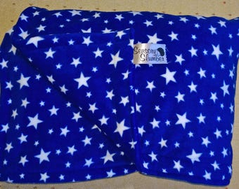 Weighted Blanket - Starry Fleece 2kg to 7kg Free Shipping Autism ADHD