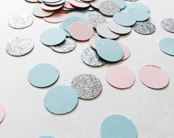 Gender reveal confetti