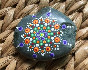Dotted Multicolor Stone-Bright Primary Colors