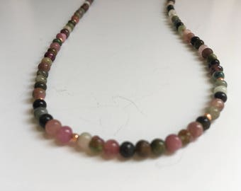 Tourmaline Necklace (Bead Collection)