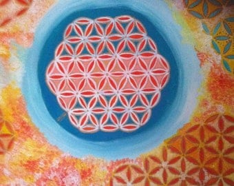 Flower of life earth source