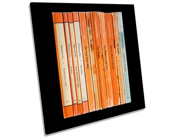 Fleetwood Mac Rumours Album Books CANVAS WALL ART Square Print