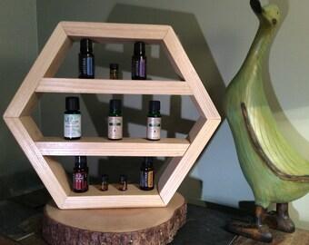 Essential Oils Rack - Ash Wood