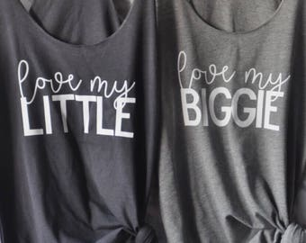 Big and Little Shirts, Sorority Shirts, Sorority Sister Shirts, Big Sister Shirt, Sorority Tanks, Big and Little Sorority
