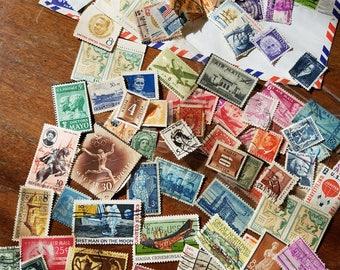 Vintage postage stamp lot 1