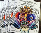 Mindfulness Coloring Book- Whimsical Wildlife Of the Pacific Northwest