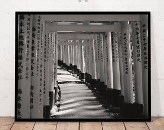 Black and White Photography, Minimalist Photography, Modern Art Print, Modern Photography, Asien Print, Asien Art, Asien Photography, Asien