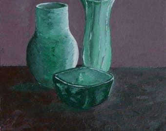 Vases Still-Life