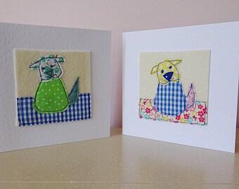 Dog card, thank-you card, dog birthday card, dog lover card, pet owner card, card for dad, friend birthday, dog thanks, card for mum