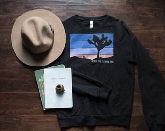 Joshua Tree National Park Sweatshirt with Sunrise
