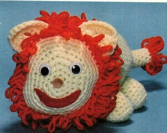Laurie Lion Soft Toy Crochet Pattern pdf