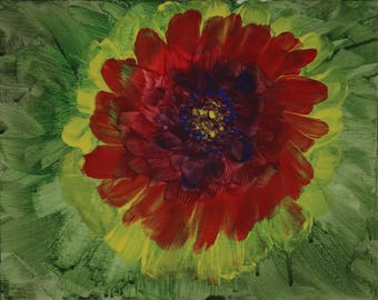 Indian Blanket art print 11x14