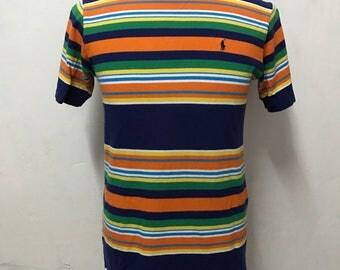 Vtg 90s ralph lauren polo t shirt japan