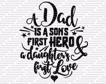 Download Father son svg | Etsy