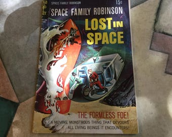 Lost In Space Tv Series Comic Book Space Family Robinson no 29 1968 Gold Key publications