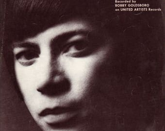Bobby Goldsboro United Artists Records Sheet Music 1973