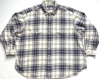 Polo Ralph Lauren plaid flannel shirt 4 XL big and tall 4x