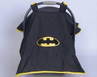 Batman Carseat Canopy