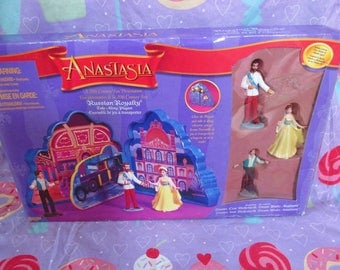 1997 Anastasia Movie Russian Royalty Take-Along Playset by Galoob