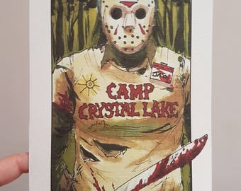 Villain CLans Jason Voorhees (Friday the 13th) - A5