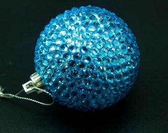 Swarovski Christmas balls,Free Shipping,Handmade Christmas balls,Christmas Tree balls, Christmas Ornament,Custom Swarovski,Christmas gift