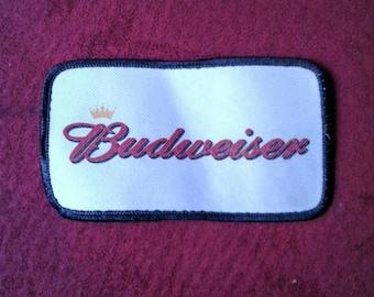 Vintage Budweiser Patch