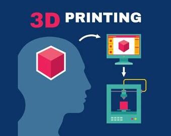 Custom 3D Printing Cosplay Service
