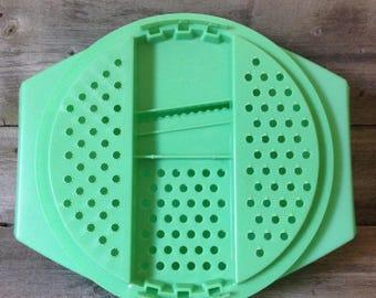 Vintage Tupperware Cheese Grater/ Shredder