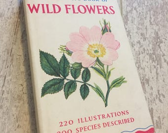 Vintage 1967 Observer book of wild flowers