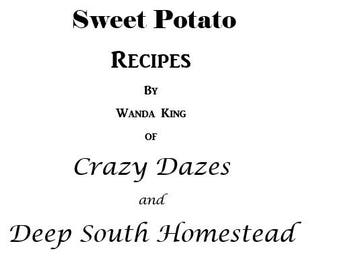 EBOOK -  Sweet Potato Recipes