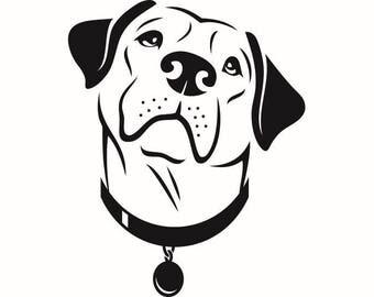 Labrador Retriever #2 Dog Breed K-9 Animal Pet Hound Lab Puppy Logo .SVG .EPS .PNG Digital Clipart Vector Cricut Cut Cutting Download File