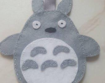 Totoro keyring, totoro keychain, my neighbour totoro keyring, totoro key charm