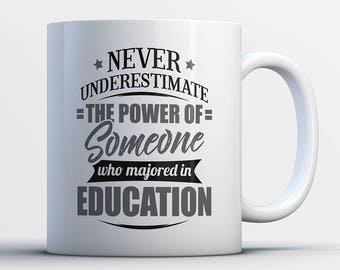 Never Underestimate The Power Of Someone Who Majored In Education