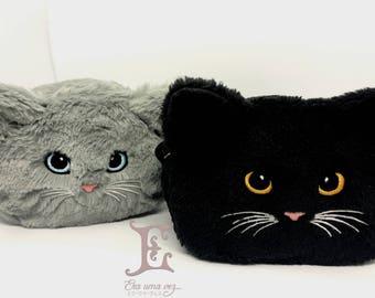 Kitten Kids Pouch - Plushy kitten Pouch