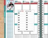 Printing Printer Planner Stickers for Erin Condren Happy Planner Travelers Midori (dd275n)