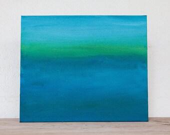 Original Canvas Art: 'Sea Meditation' #2