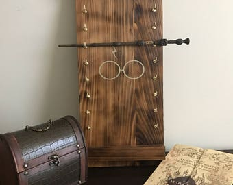 Ollivanders wand display harry potter single wand display for Elder wand display