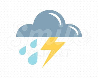 STORM Clipart Illustration for Commercial Use | 0015