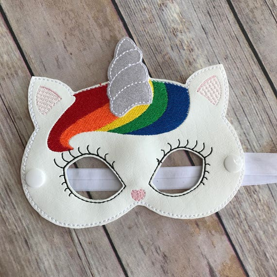 Girls Unicorn Cat Mask