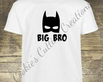 Big Brother/Little Brother Shirts Batman/Robin/Big Bro/Sidekick