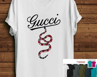 Inspired Guc*i Shirt. Guc*i tee. Gucci tshirt. Serpent Gucci Shirt. Pinterest Shirt. Tumblr Shirt Tee. Fashion Blogger tee.Parody Shirt
