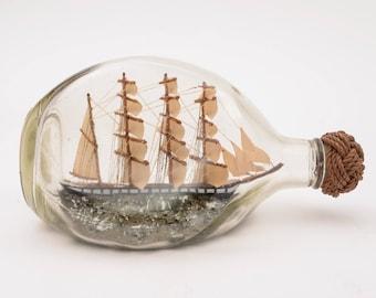 Ship in Bottle, Circa 1900